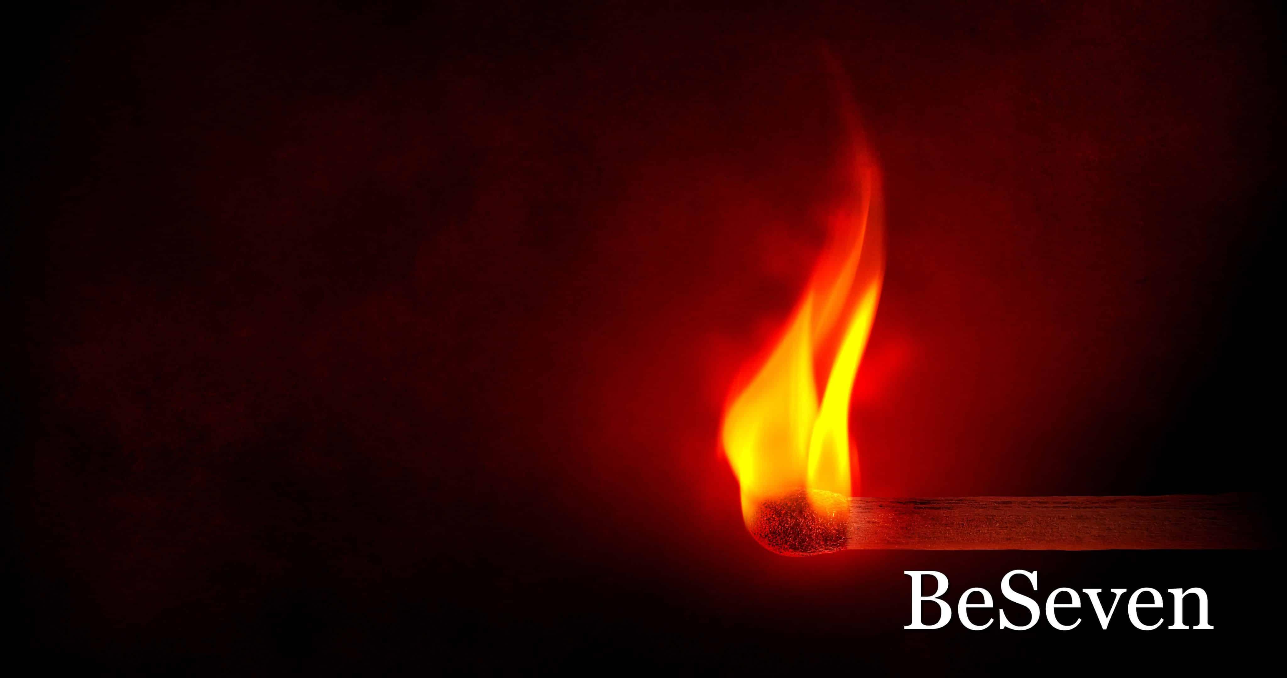"""Fond d'écran de BeSeven """"Lueur d'espoir"""""""