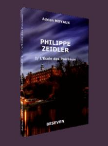 """Couverture du tome 1 """"L'École des Poireaux"""" de la série Philppe Zeidler écrite par Adrien Moyaux"""
