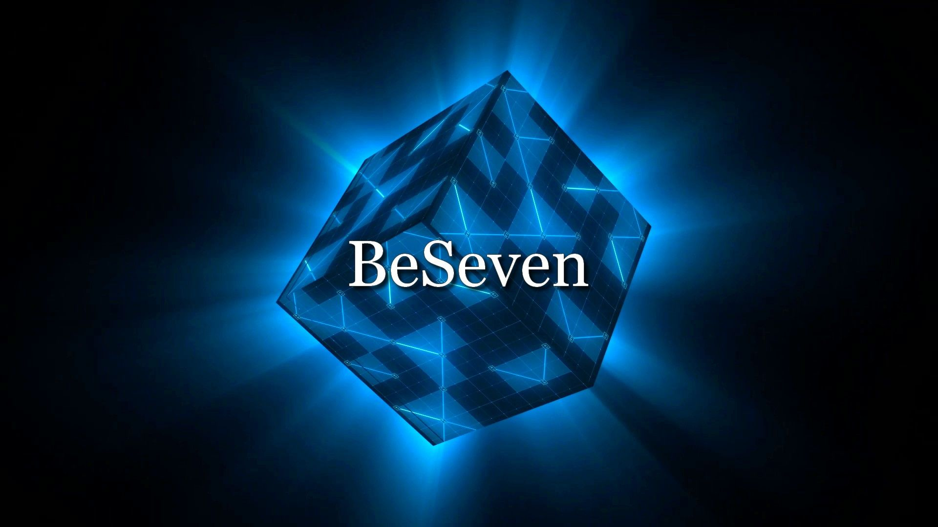 Fond d'écran Cube 1 de BeSeven